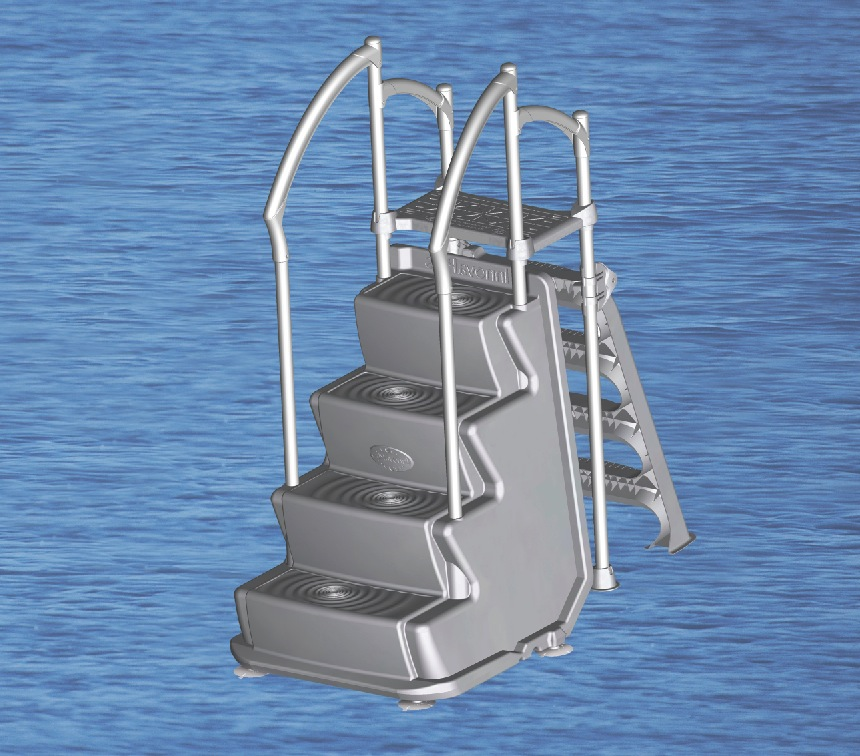 Above Ground Swimming Pool Steps. Discount Prices